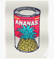 Condensed ananas Poster