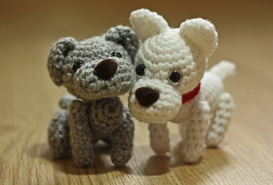 Little Crochet Puppy Dogs by Liz Lane