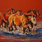 """""""Cool Crossings"""" by Susan McKenzie Bergstrom"""