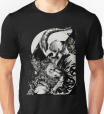 Skull Boy and the Wolf T-Shirt