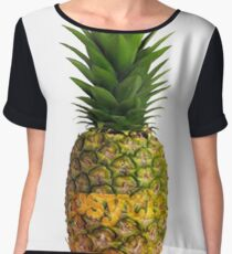 Psych Pineapple Women's Chiffon Top
