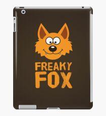 Funny cute Freaky Fox iPad Case/Skin
