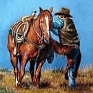 """Cowboy Up"" by Susan  Bergstrom"