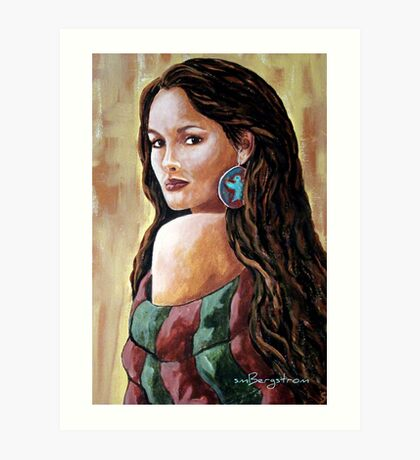 Phoenix Wrapped In Tradition Art Print
