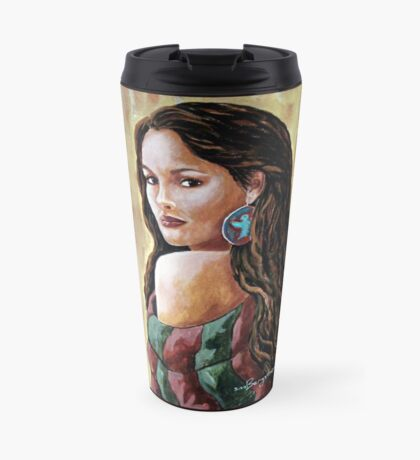 Phoenix Wrapped In Tradition Travel Mug