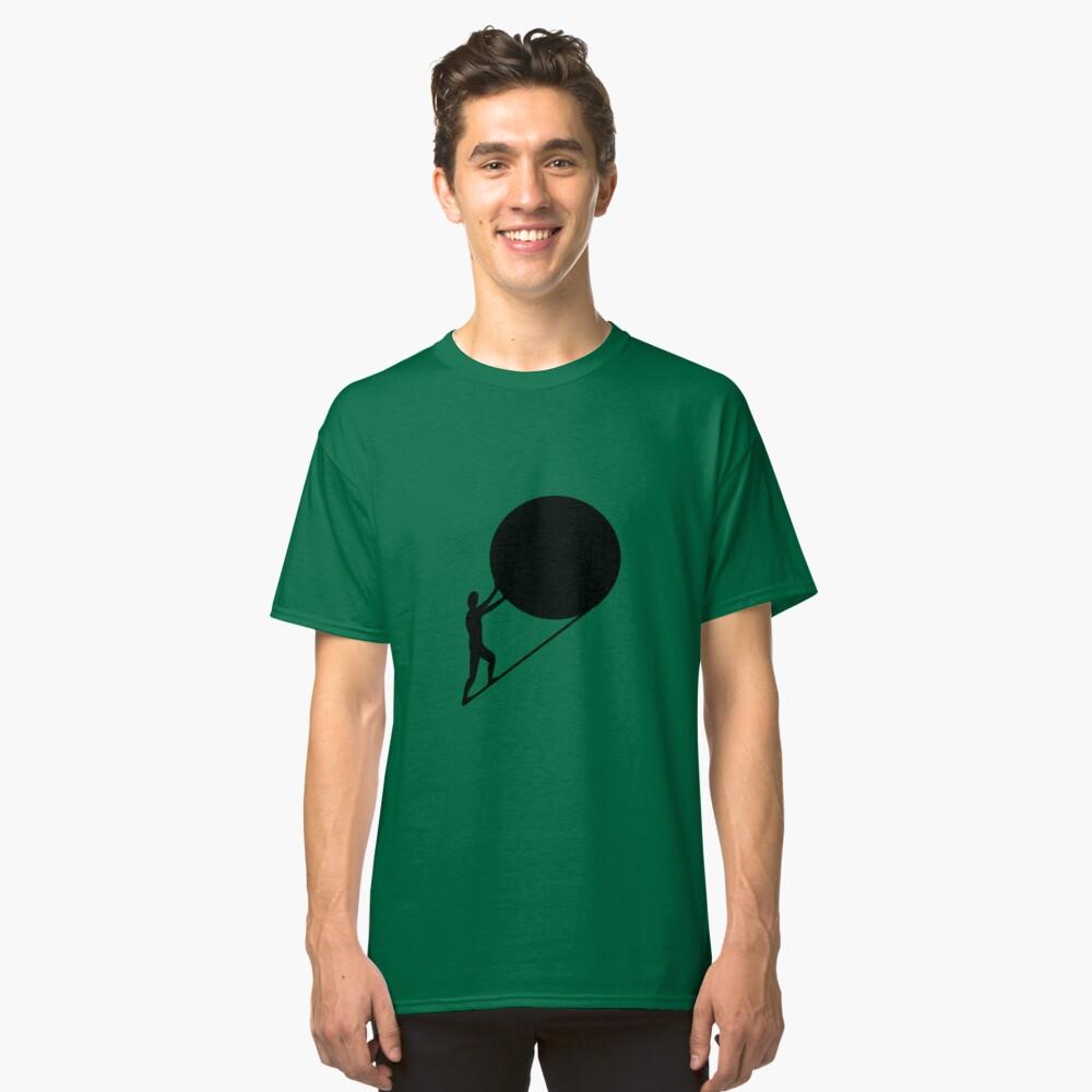 Camiseta clásicaSísifo, el rey de Ephyra Delante