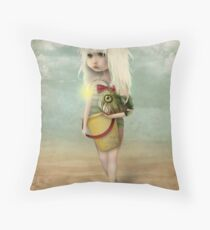My Fishy Friend Throw Pillow