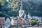 St. Goar along the Rhine by Imagery