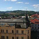 Banska Bystrica roofs by Ilan Cohen