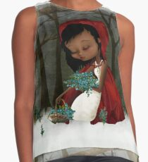 Red Riding Hood Contrast Tank
