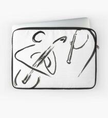 cello & oboe (haiga IX)  Laptop Sleeve