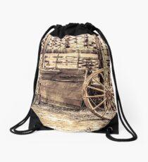 Wagon Wheel Drawstring Bag