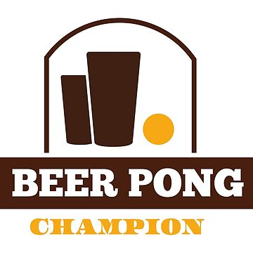 Beer Pong Champion by nektarinchen