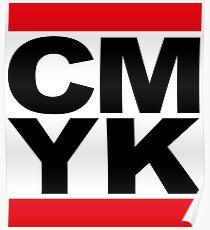 CMYK Run Dmc Poster