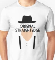 Original Straight Edge Drug Free Funny Amish Unisex T-Shirt