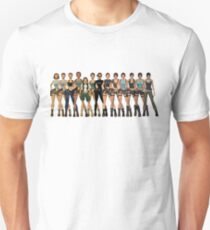 Tomb Raider Lara Croft All Generations Unisex T-Shirt