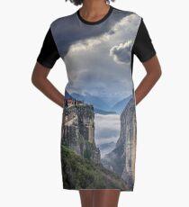 meteora Graphic T-Shirt Dress