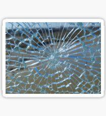 Smashed glass Sticker
