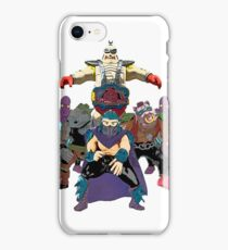 Shredder, Krang, Rocksteady, Bebop, Foot Clan, OH MY!  iPhone Case/Skin