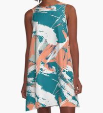 Miami Beach Is For Dolphins A-Line Dress
