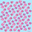 Mums in Pink by pinxnpurples
