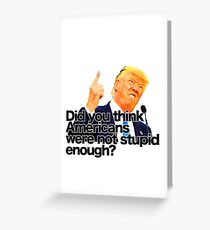 Trump President *2 Greeting Card