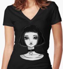 Mathilda Women's Fitted V-Neck T-Shirt