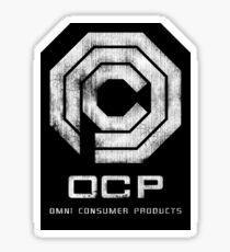 OCP - Grunge Sticker
