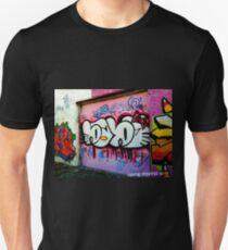 Graffiti Wall, West Philly, September 2013 Redux Unisex T-Shirt