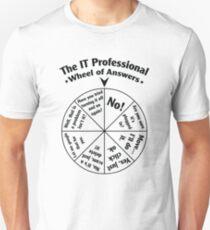 Das IT-Profi-Rad der Antworten. Slim Fit T-Shirt