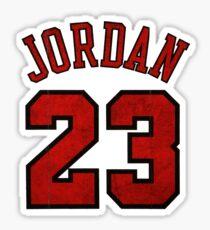 Jordan 23 Worn Sticker
