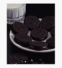 Milk and Cookies Photographic Print
