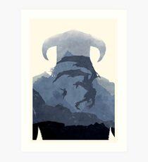 Skyrim II (No Text) Art Print