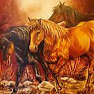 """Wild Ponies"" by Susan  Bergstrom"