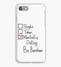 Mentally Dating Bo Burnham iPhone Case/Skin