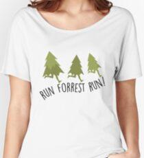 Run Forrest Run - Forrest Gump Women's Relaxed Fit T-Shirt