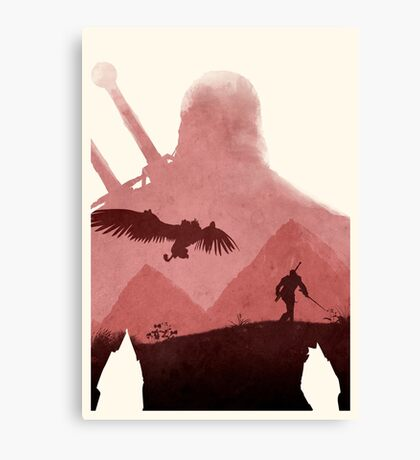 The Witcher (No Text) Canvas Print