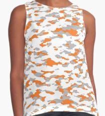 Camouflage: Orange III Contrast Tank
