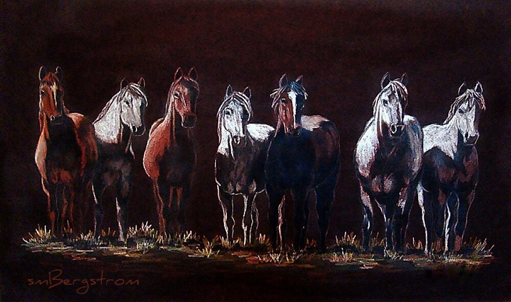 """The Line Up"" by Susan McKenzie Bergstrom"