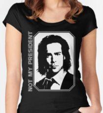 Gaius Baltar - Not My President Shirt Women's Fitted Scoop T-Shirt