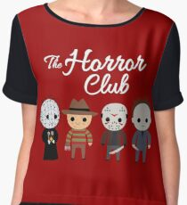 The Horror Club Women's Chiffon Top