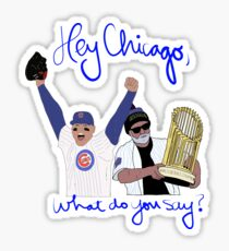 Hey Chicago, What do you Say??? Sticker