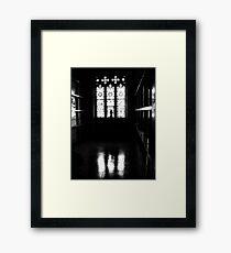 judgement hour Framed Print