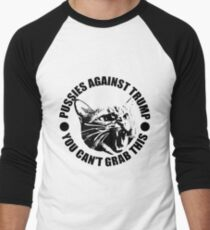 Pussies Against Trump Men's Baseball ¾ T-Shirt