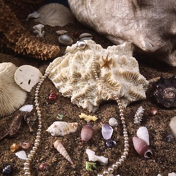 Pearls in the sand by Gypsykiss