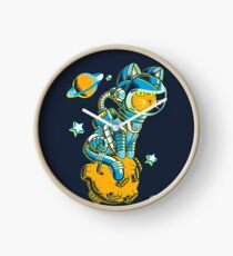 Space Cat Clock