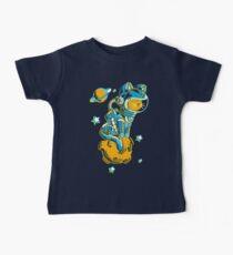 Camiseta para bebés Space Cat