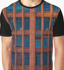 Windows at the Manchester Unity Building Graphic T-Shirt