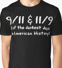 9-11 11-9 Coincidence Graphic T-Shirt