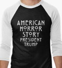 Real Life Horror Story Men's Baseball ¾ T-Shirt